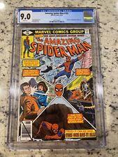 Amazing Spider-Man #195 CGC 9.0 Origin & 2nd Appearance if Black Cat