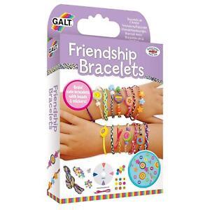 Make Your Own Galt Toys Friendship Bracelets Beads Lot Kit Creative Crafts Girls