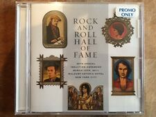 Rock And Roll Hall of Fame 2011 26th Annual Induction Dinner PROMO cd SEALED