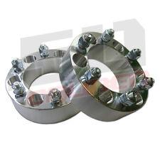 """2 6x5.5 Wheel Spacer Lug 6x139.7 2"""" Fits Infiniti Isuzu Jeep Lexus Nissan Toyota"""