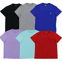 Polo Ralph Lauren Mens T-Shirt Pony Logo Crew Neck Pocket Tee S M L Xl New Nwt