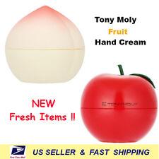 [ TONYMOLY ] Peach Hand Cream + Red apple hand cream (2pcs) NEW
