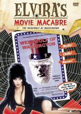 NEW DVD - ELVIRA MOVIE MACBRE - WEREWOLF OF WASHINGTON - DEAN STOCKWELL - 1973