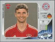 PANINI UEFA CHAMPIONS LEAGUE 2012-13- #385-BAYERN MUNICH-THOMAS MULLER