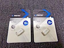 2PK Pretec 16GB Flashdrive USB 2.0, i-Disk Paco (RC)