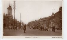 HIGH STREET, DUNSTABLE: Bedfordshire postcard (C6814).