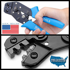 Molex Crimping Plier Tool Cable Clamp Pressed Terminal Pins Diameter Awg 20 14