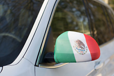 MEXICO CAR MIRROR FLAG COVERS 2018 WORLD CUP SHIPS FROM USA