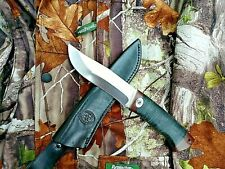 RUSSIAN Handmade Hunting Camping Knife Sila by A&R Stainless Leather Engraved