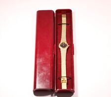 Ingersoll Ladies Gold Coloured Bracelet Watch Quartz Lovely Condition.