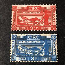 IRELAND, SCOTT # 133/134(2), COMPLETE SET 1946 PARNELL & DAVITT ISSUE MNG