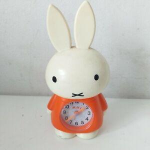 Vintage 1970 Miffy Alarm Clock Dick Bruna  Figurine Doll Cute Adorable Bunny