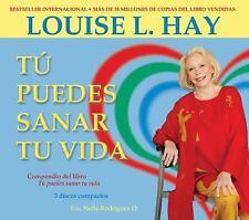 Tu Puedes Sanar Tu Vida : Spanish, 3-CD Set! by Louise L. Hay (2009, CD)