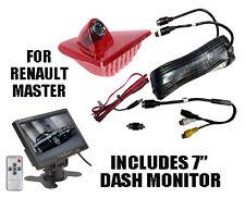 """Renault Master Reversing Camera Kit With Large 7"""" Dash Monitor (2010 - Present)"""
