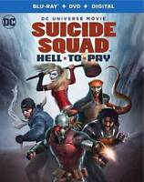 New Sealed Suicide Squad: Hell to Pay Blu-ray Disc + DVD + Digital