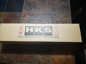 "HKS hi power  Universal Muffler 2.5"" inlet 4"" outlet"