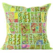 """16 , 20 , 24 , 28"""" de Colores Patchwork Almohada Decorativa Sofá Cojín Funda So"""