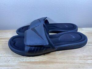 Nike Comfort Footbed 705513-090 Slide Sandals Padded Men's Size 12 Black