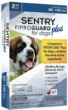 SENTRY Fiproguard Plus Flea and Tick Topical for Dog 89-132lbs