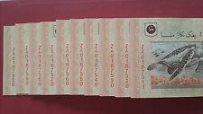 80Pcs Malaysia Zeti RM20 Replacement Banknote ( ZA0187521-ZA0187600 ) - UNC