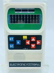 """MATTEL FOOTBALL Vintage Handheld Electronic Video Game 1977""""Tested"""" and Working"""