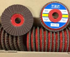Flap Disc P150 plat Medium 150 Grit Aluminium Oxide TAF 115 mm x 22 mm 43A-150