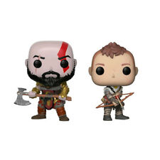God of War (2018) - Kratos & Atreus US Exclusive Pop! Vinyl Figures - Set of 2
