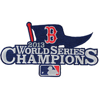 2013 Official MLB World Series Champions Boston Red Sox Collectors Patch