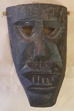 coppia antiche maschere sarde mamutones