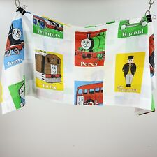 "Vintage Thomas the Train Window Valance Curtain 2pcs 85"" Percy Toby James Harold"