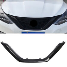 Black Front Center Grille Grill Replacement For Nissan Sylphy / Sentra B17 16-18