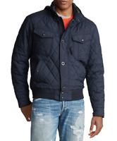 POLO RALPH LAUREN Men's Iconic Lightweight Quilted Bomber Jacket NEW NWT $298