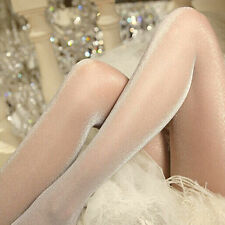 Fashion Women's sexy oil Shiny pantyhose yarns sexy satin Stockings ESUS