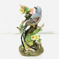 "Vintage 1979 Flycatcher Mini Decanter Porcelain 5 1/2"" State Bird Oklahoma"