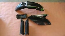 2009-12 Kawasaki KX250F Plastic Fender Fork Guard Cover Set