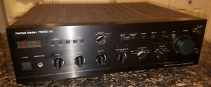 Vintage Harman Kardon PM665  High Integrated Amplifier Stereo Parts or Repair