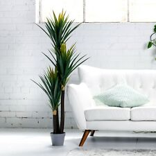150cm Potted Yucca Plant Green Natural Interior Home Styling AU Faux Artificial