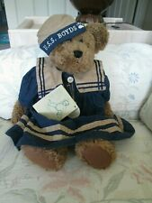 "Boyds Bears 13"" Nautical Yardley Fitzhampton Invesment Collectable Teddy Bear"