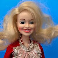 Vintage 1970s Dolly Parton Doll Celebrity in Western Outfit EEGEE Co Hong Kong