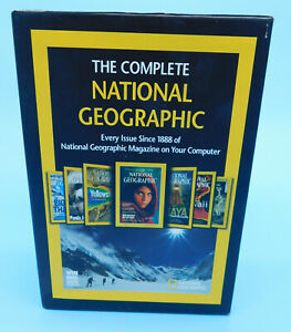 DVD The Complete National Geographic - Every Issue 1888-2008 DVD-ROM Win Mac VG+