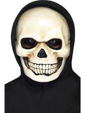 Skull Mask Halloween Fancy Dress Skeleton Face Mask Ladies Mens