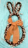 Easter Wreath Bunny Shaped Natural Decor 24""