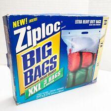 "3 pack Ziploc XXL Extra Extra Large Heavy Duty 24"" x 32"" Storage Big Bags"