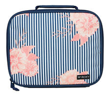 NEW TAGS ROXY INSULATED LUNCH BOX BAG COOLER CASE ESKY NAVY LUNCHY