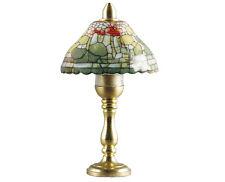 """Tischlampe mit Porzellanschirm """"Tiffany"""" Puppenhausbeleuchtung, Kahlert 10463"""