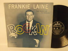50s 60s Pop Vocal FRANKIE LAINE rockin' 1958 UK Mono Vinyl LP Mint