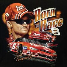 2000 Dale Earnhardt Jr Born To Race Bud King Of Beers 8 NASCAR Graphic T-shirt L