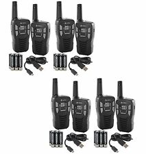 NEW! (8) COBRA CXT145 MicroTalk 16 Mile 22 Channel Walkie Talkie 2-Way Radios!