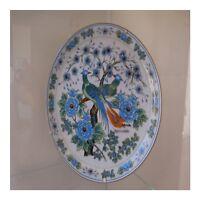 Plato Cerámica Porcelana de China Art Nouveau Déco Diseño Pn Francia N101