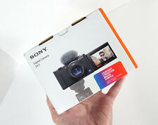 Sony ZV-1 20.1MP Camera- 4K Video- WiFi- 3 Capsule Mic-WHITE•NEW- U.S.VERSION